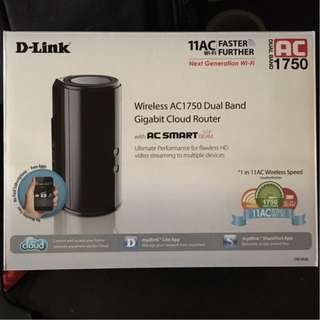 D-Link Wireless AC1750 Dual Band Gigabit Cloud Router