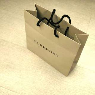 BURBERRY Paper Bag 經典版紙袋