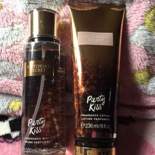 Victoria's Secret Party Kiss Mist + Lotion