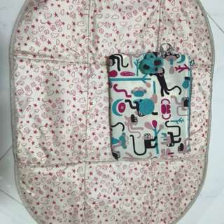 Brand New Authentic Kipling Changing Mat Pouch