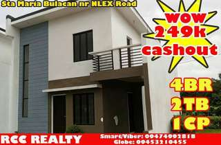 Rent to Own House and Lot for sale Redwood Residences Sta Maria Bulacan