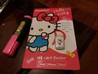PhotoFast iOS card reader(hello kitty) iphone/ipod/ipad專用
