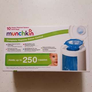 Munchkin nappy system refill bags x 5