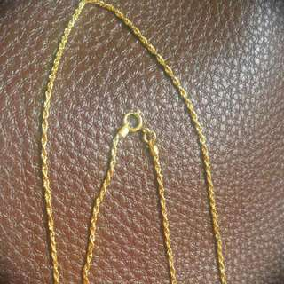 Pawnable Gold Necklace 18k