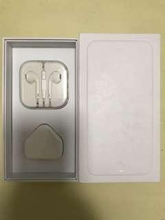 原裝apple 3.5 mm hands free ,三腳充電插頭