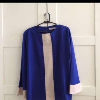 Arianni Royal Blue Top Size L