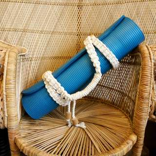Macrame Yoga Mat Sling Strap