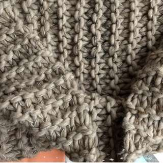 New Anna Kula chunky soft wool eternity cowl scarf