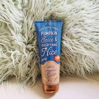 Spiced Pumpkin Cider Body Cream