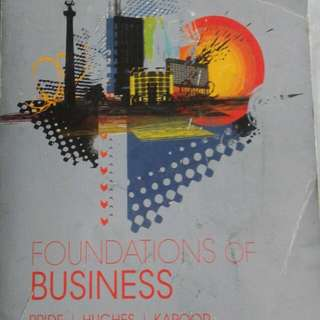Foundation of Business
