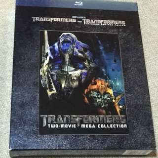 Transformer 1 & 2 2-disc Bluray