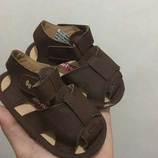 Brown Sandals for Baby Boy