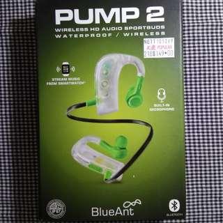 Wireless Earphones Pump 2