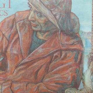 1943年 歐洲 法國20法郎 全新直版(有黃)