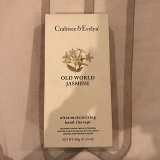 Crabtree & Evelyn Old World Jasmine Ultra Moisturizing Hand Therapy