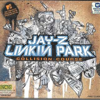 MY PRELOVED CD -LINKIN PARK COLLISION COURSE -  /FREE DELIVERY (F7R))