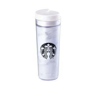 Starbucks Korea Marble white iconic tumbler 473ml