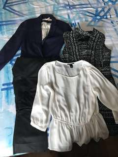 Bundle of formal clothes