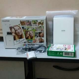 💞Fujifilm Instax Share Smartphone Printer SP-2 Silver