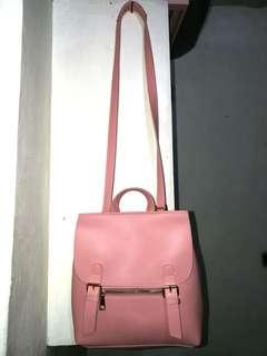 Parisian Pastel Pink 3-way Bag