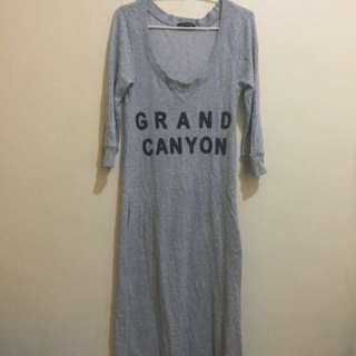 Grand Canyon Pullover Maxi Dress