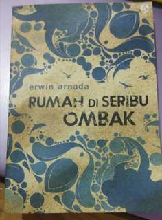 Novel RUMAH DI SERIBU OMBAK by Erwin Arnada