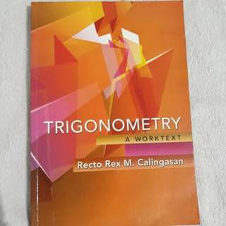Trigonometry book by Calingasan