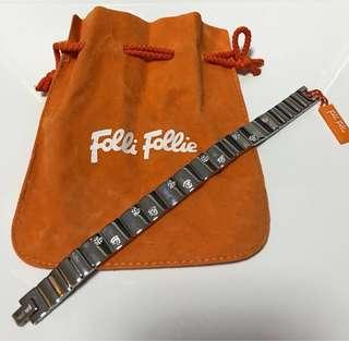 Folli Follie 心形水晶手鏈