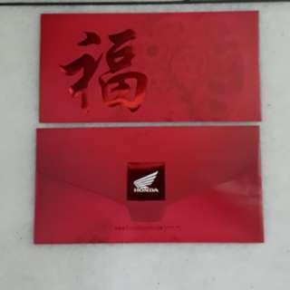 2pcs Honda Red packet/ angpow