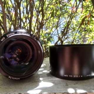Minolta MD Lens