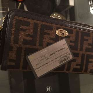 Fendi Wallet, Lv Gucci Prada Chanel $900
