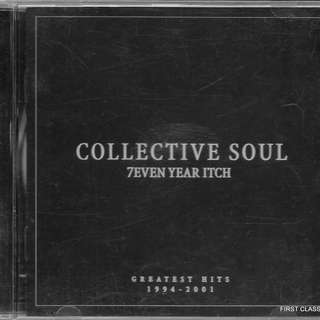 MY PRELOVED CD -COLLECTIVE SOUL - GREATEST HITS 1994-2001  /FREE DELIVERY (F7R))