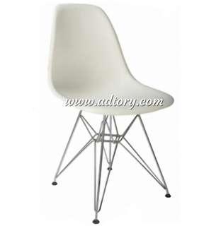 (Cash & carry) Scadinavian chair steel iron eames office