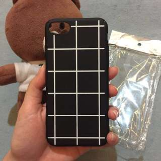 [FREE ONGKIR] Iphone Case 7 Grid Hard Case
