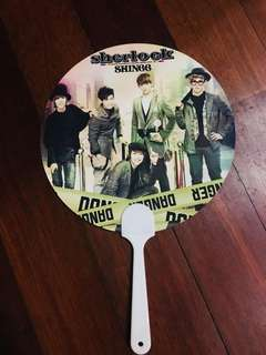 SHINee Sherlock Japanese Album Limited Gift Fan