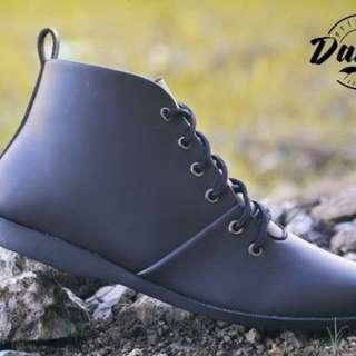 Sepatu Dalmo Brodo - Sepatu Casual Pria - Sepatu Boots - Free Kaos Kaki