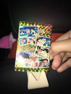 媽媽是小學四年生的貼紙卡