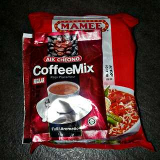 Coffee Mix and Mamee Curry