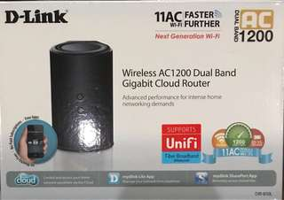 D-Link WiFi super fast Router for traveler