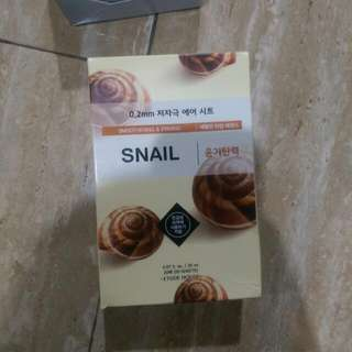 Etude Snail Sheet Mask