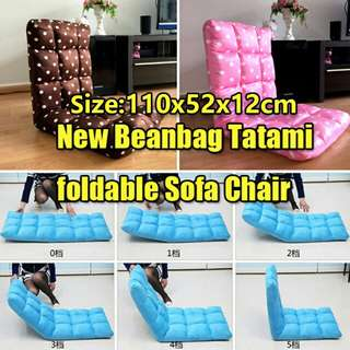 New Beanbag Tatami foldable Sofa Chair/ Foldable Bed Chair/ Home Comfort Lounge Chair/seatting chair