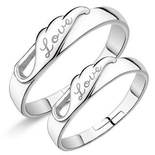 Sliver 925 Couple Ring(CR-006)