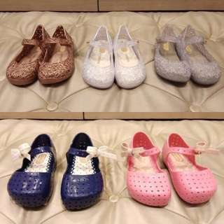 Mini Melissa Jelly Shoes and Sandals