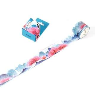 Cherry Blossoms & Mountains Washi Tape #154 (Extra Large)
