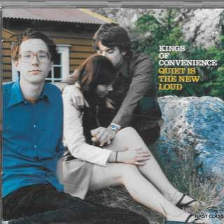 MY PRELOVED CD - KINGS OF CONVENIENCE - QUIET IS THE NEW LOUD / /FREE DELIVERY (F7R)