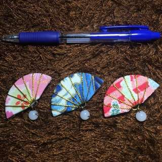 handmade Japanese traditional sensu (せんす) style hair clippers - cosplay, wedding or racial harmony celebrations