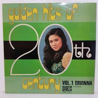 Reserved: Ervinna 爱慧娜 - Golden Hits Of 20th Century Vol 1 Vinyl Record