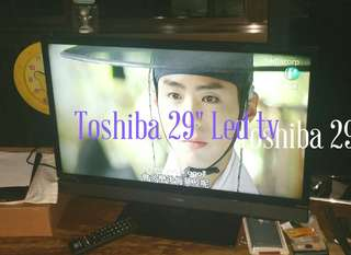 "Toshiba 29"" Led tv"