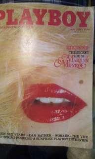 Marilyn Monroe may 1979 playboy magazine