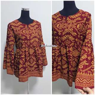 Songket flare top
